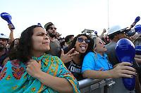 SÃO PAULO, SP, 26.06.2015 - FESTIVAL-SP  - Público durante o Nivea Viva Rock Brasil  na Praça Heróis da FEB, região norte de São Paulo, neste domingo, 26. (Foto: Yuri Alexandre/Brazil Photo Press)