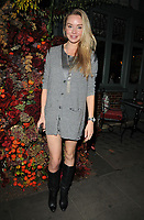 Noelle Reno at the Ivy Chelsea Garden's Winter Garden launch party, The Ivy Chelsea Garden, King's Road, London, England, UK, on Sunday 05 November 2017.<br /> CAP/CAN<br /> &copy;CAN/Capital Pictures