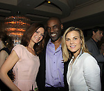Florencia Lozano & Timothy Stickney & Gina Tognoni - Marcia Tovsky throws her annual party on May 9, 2013 with actors from One Life To Live and As The World for a get together at Noir in New York City, New York. (Photo by Sue Coflin/Max Photos)