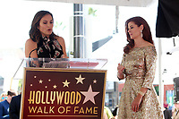 HOLLYWOOD, CA - OCTOBER 6: Mariska Hargitay and Debra Messing pictured as Debra Messing is Honored With A Star On The Walk Of Fame on Hollywood Boulevard in Hollywood, California on October 6, 2017. <br /> CAP/MPI/FS<br /> &copy;FS/MPI/Capital Pictures