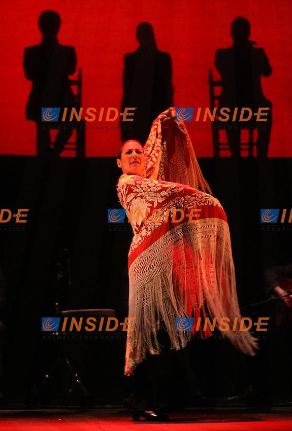 "Spanish flamenco dancer Sara Baras during the presentation of her new show ""Esencia""..(Acero/ALTERPHOTOS)"