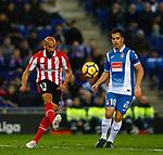 Mikel Rico, RCD Espanyol v Athletico Club Bilbao, Jornada 19 on 14 January 2018, RCDE Estadium, Barcelona. La Liga Santander 2018. Photo Martin Seras Lima