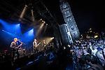 © Joel Goodman - 07973 332324 . 31/08/2013 . Rochdale , UK . The Feeling perform at a free gig in Rochdale . Photo credit : Joel Goodman