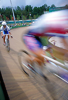 Track Cycling during 1996 Summer Olympics. Atlanta Georgia United States Olympic Stadium.