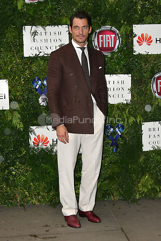 David Gandy at Charity ball in aid of One For The Boys, a charity raising awareness of male forms of cancer, encouraging men to get checked regularly. Evening celebrates the launch of the 2016 campaign film The Difference, at Victoria and Albert Museum, London, England June 12, 2016.<br /> CAP/JOR<br /> &copy;JOR/Capital Pictures /MediaPunch ***NORTH AND SOUTH AMERICAS ONLY***