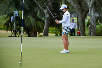 Mamiko Higa (JPN) barely misses her birdie attempt on 4 during round 4 of the 2019 US Women's Open, Charleston Country Club, Charleston, South Carolina,  USA. 6/2/2019.<br /> Picture: Golffile | Ken Murray<br /> <br /> All photo usage must carry mandatory copyright credit (© Golffile | Ken Murray)