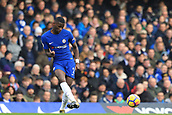 2nd December 2017, Stamford Bridge, London, England; EPL Premier League football, Chelsea versus Newcastle United; Antonio Rudiger of Chelsea