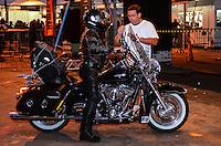 ATENCAO EDITOR: FOTO EMBARGADA PARA VEICULOS INTERNACIONAIS. - RIO DE JANEIRO, RJ,14 DE SETEMBRO 2012 - RIO HARLEY DAYS 2012- Abertura do Harley Days 2012, sucesso na Espanha, Franca, Alemanha e Croacia, o evento desembarca para sua segunda edicao no Brasil, na Marina da Gloria, na Gloria, zona sul do Rio de Janeiro.(FOTO: MARCELO FONSECA / BRAZIL PHOTO PRESS).