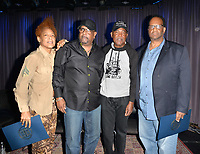 "LOS ANGELES, CA- FEB. 08: Medusa, Alonzo ""Lonzo"" Williams, Calvin Anderson, Atron Gregory at the From Compton to Cornell: Preserving The History of Hip Hop In the Hub City at the Grammy Museum in Los Angeles, California on February 8, 2018 Credit: Koi Sojer/ Snap'N U Photos/Media Punch"