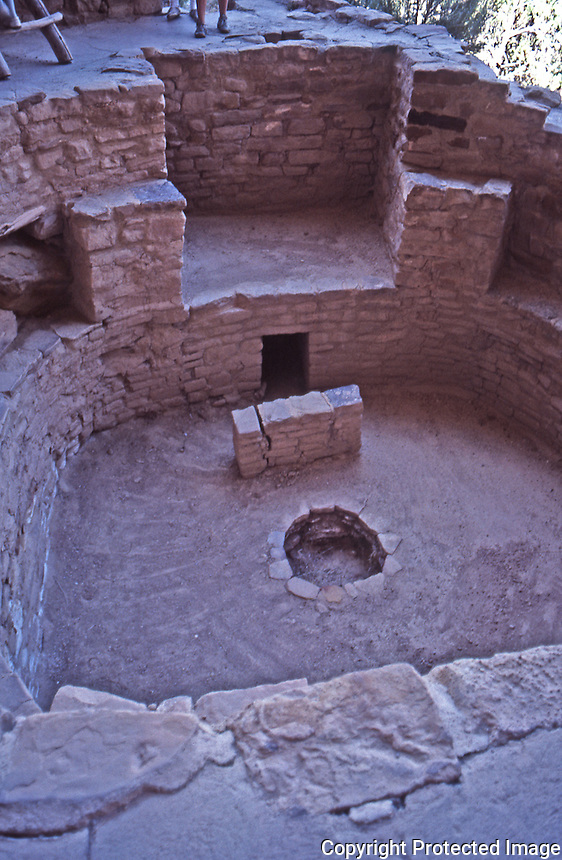 Kiva, Cliff Palace, Mesa Verde National Park