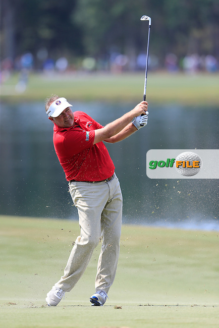 Ken Duke (USA) during round 2 of the Players, TPC Sawgrass, Championship Way, Ponte Vedra Beach, FL 32082, USA. 13/05/2016.<br /> Picture: Golffile | Fran Caffrey<br /> <br /> <br /> All photo usage must carry mandatory copyright credit (&copy; Golffile | Fran Caffrey)