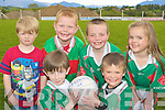 Young footballers at the Kilcummin GAA La na gClub on Sunday was front row l-r: Evan Murphy, Oran Dwyer. Back row: Robbie Moynihan, Jack McClain, Darren Lehane and Evan Dwyer