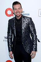 LOS ANGELES - FEB 9:  Damon Sharpe at the 28th Elton John Aids Foundation Viewing Party at the West Hollywood Park on February 9, 2020 in West Hollywood, CA