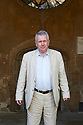 Martin Bell, war correspondant and writer  at The Oxford Literary Festival at Christchurch College Oxford  . Credit Geraint Lewis