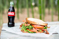 The triple BLT at Merritt's Store and Grill in Chapel Hill, NC.