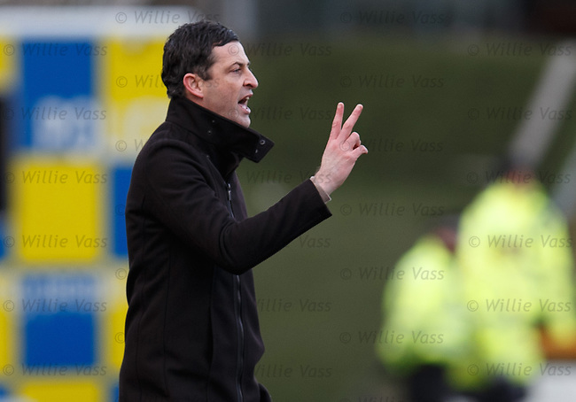 Jack Ross, Alloa manager