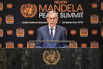 Opening Plenary Meeting of the Nelson Mandela Peace Summit<br /> <br /> Austria