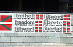 Freedom for the Basque Country<br /> <br /> Libertad para Euskal Herria (cast.: Pa&iacute;s Vasco)<br /> <br /> Freiheit f&uuml;r das Baskenland<br /> <br /> 3826 x 2478 px<br /> Original: 35 mm slide transparency
