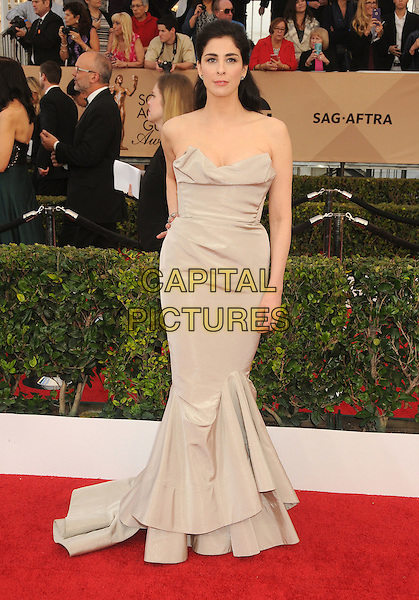 30 January 2016 - Los Angeles, California - Sarah Silverman. 22nd Annual Screen Actors Guild Awards held at The Shrine Auditorium.      <br /> CAP/ADM/BP<br /> &copy;BP/ADM/Capital Pictures