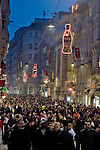 Istanbul, Turkey, Istiklal Caddesi, Istiklal Avenue, Galatasaray, Saturday night, pedestrian street,