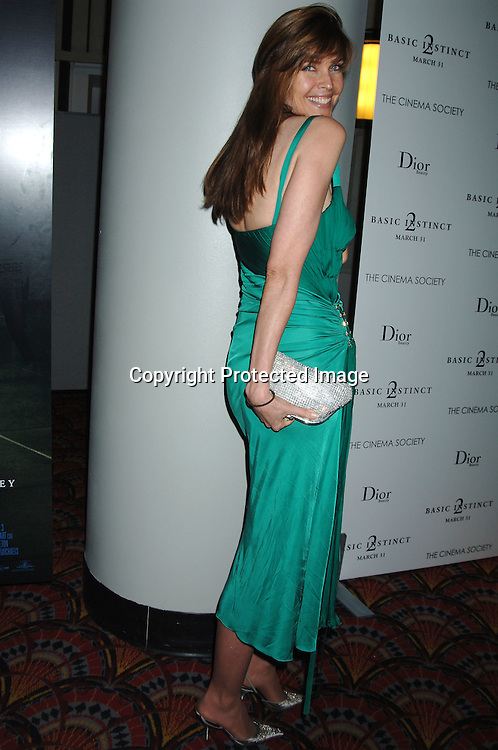 """Carol Alt ..at The World Premiere of """"Basic Instinct 2"""" starring ..Sharon Stone and David Morrissey on March 27, 2006..at The Loews Lincoln Square Theatre. The Cinema Society and Dior Beauty were the sponsers of the event. ..Robin Platzer, Twin Images"""