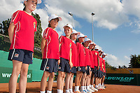 2013-08-17, Netherlands, Raalte,  TV Ramele, Tennis, NRTK 2013, National Ranking Tennis Champ,  ballkids<br /> <br /> Photo: Henk Koster