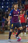 League LNFS 2018/2019 - Game 29.<br /> FC Barcelona Lassa vs Viña Albali Valdepeñas: 5-1.<br /> Adolfo Fernandez.