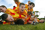 14/10/2012 The Avenue United team who defeated Coole FC in the ESB Moneypoint U-12 Cup Final at the County Ground on Sunday. Pic: Don Moloney/Press 22