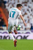 Real Madrid Lucas Vazquez during La Liga match between Real Madrid and Athletic Club at Santiago Bernabeu Stadium in Madrid. April 19, 2017. (ALTERPHOTOS/Borja B.Hojas) /NortePhoto.com