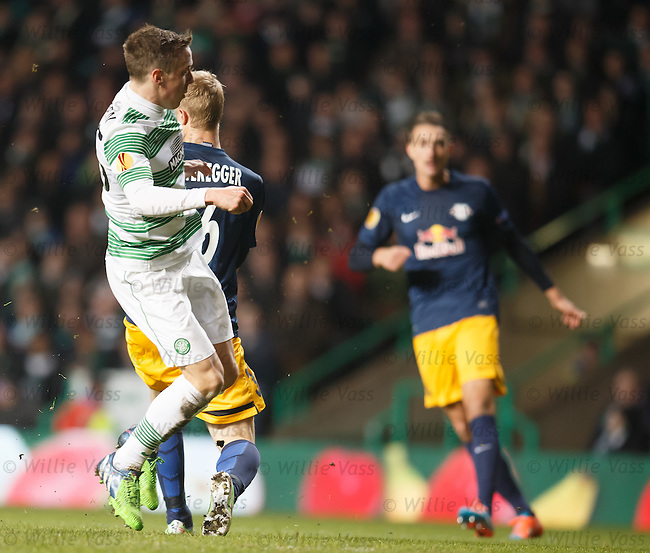 Stefan Johansen knocks in goal