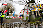 Donal O'Callaghan winning the Kerry's Eye Tralee, Tralee International Half Marathon on Saturday.