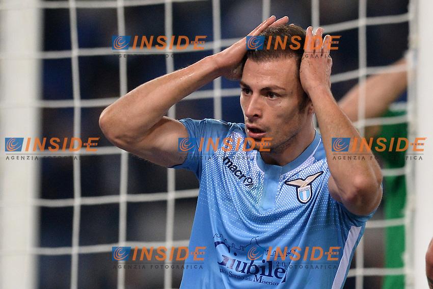 Stefan Radu Lazio.<br /> Roma 4-12-2015 Stadio Olimpico, Football Calcio 2015/2016 Serie A Lazio - Juventus. Foto Antonietta Baldassarre / Insidefoto