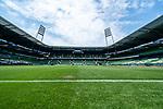 wohninvst Weserstation vor dem Spiel gegen den 1. FC Koeln<br /> <br /> <br /> Sport: nphgm001: Fussball: 1. Bundesliga: Saison 19/20: 34. Spieltag: SV Werder Bremen vs 1.FC Koeln  27.06.2020<br /> <br /> Foto: gumzmedia/nordphoto/POOL <br /> <br /> DFL regulations prohibit any use of photographs as image sequences and/or quasi-video.<br /> EDITORIAL USE ONLY<br /> National and international News-Agencies OUT.