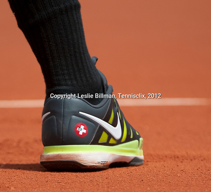 Roger Federer wins at Roland Garros in Paris, France on May 30, 2012