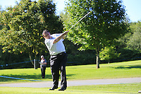 Tommy Fleetwood (ENG) team during Wednesday's Pro-Am of the 2014 Irish Open held at Fota Island Resort, Cork, Ireland. 18th June 2014.<br /> Picture: Eoin Clarke www.golffile.ie