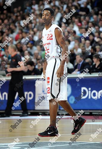 2012-02-15 / Basketbal / seizoen 2011-2012 / 1/4 finale Beker van België / Antwerp Giants - Charleroi / Sportpaleis / Alan Wiggins..Foto: Mpics.be
