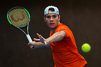 Alphen aan den Rijn, The Netherlands, 25 Januari 2019, ABNAMRO World Tennis Tournament, Supermatch, Final,  Ryan Nijboer  (NED)<br /> <br /> Photo: www.tennisimages.com/Henk Koster