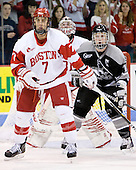 Max Nicastro (BU - 7), ? - The Boston University Terriers defeated the visiting Providence College Friars 2-1 on Saturday, October 23, 2010, at Agganis Arena in Boston, Massachusetts.