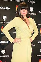 Yolanda Ramos attends the Feroz Cinema Awards 2015 at Las Ventas, Madrid,  Spain. January 25, 2015.(ALTERPHOTOS/)Carlos Dafonte) /NortePhoto<br /> <br /> nortePhoto.com