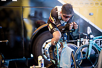 Wout van Aert (BEL/Jumbo - Visma) warming up<br /> <br /> Stage 13 (ITT): Pau to Pau (27km)<br /> 106th Tour de France 2019 (2.UWT)<br /> <br /> ©kramon