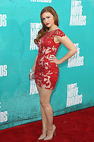 Holland Roden at the 2012 MTV Movie Awards held at Gibson Amphitheatre on June 3, 2012 in Universal City, California. ©mpi29/MediaPunch Inc.
