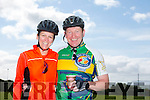 Bridget Moore and Bob Walsh at Pedal the peninsula  run by Sliabh Mish Spinners Cycling Club in association with Keel Palliative Care Fundraising Group and Keel GAA. on Sunday