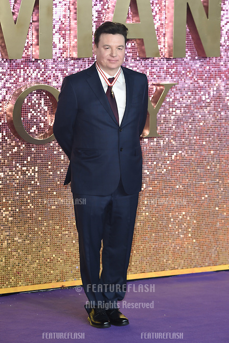 "LONDON, UK. October 23, 2018: Mike Myers at the world premiere of ""Bohemian Rhapsody"" at Wembley Arena, London.<br /> Picture: Steve Vas/Featureflash"