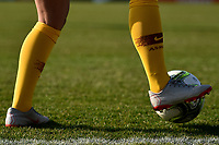 An AS Roma player warms up prior to the second half of the Women Italy cup round of 8 second leg match between AS Roma and Roma Calcio Femminile at stadio delle tre fontane, Roma, February 20, 2019 <br /> Foto Andrea Staccioli / Insidefoto