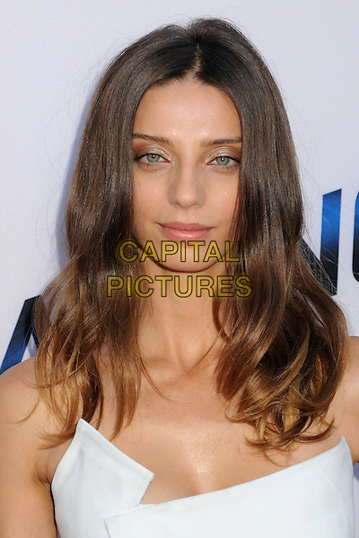 Angela Sarafyan<br /> &quot;Paranoia&quot; Los Angeles Premiere held at the Directors Guild of America, West Hollywood, California, USA, 8th August 2013.<br /> portrait headshot white strapless<br /> CAP/ADM/BP<br /> &copy;Byron Purvis/AdMedia/Capital Pictures