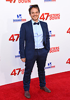 Ernest Riera at the Los Angeles premiere for &quot;47 Meters Down&quot; at the Regency Village Theatre, Westwood. <br /> Los Angeles, USA 12 June  2017<br /> Picture: Paul Smith/Featureflash/SilverHub 0208 004 5359 sales@silverhubmedia.com