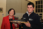 Deputy Principal Dolores Mullins presents the Frank Murtagh Memorial Award to Darren O'Reilly at the School Awards Ceremony in St.Mary's School...(Photo credit should read Jenny Matthews www.newsfile.ie)....This Picture has been sent you under the conditions enclosed by:.Newsfile Ltd..The Studio,.Millmount Abbey,.Drogheda,.Co Meath..Ireland..Tel: +353(0)41-9871240.Fax: +353(0)41-9871260.GSM: +353(0)86-2500958.email: pictures@newsfile.ie.www.newsfile.ie.