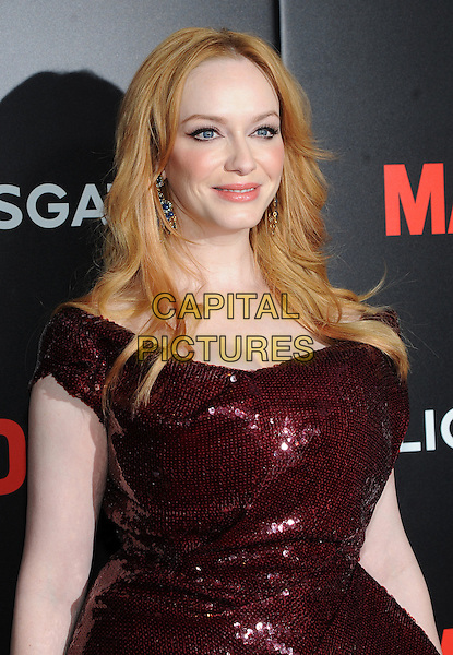 New York, NY-  March 22:  Christina Hendricks attends a special Friends and Family screening of Mad Men on March 22, 2015 at MoMA in New York City. <br /> CAP/MPI/STV<br /> &copy;STV/MPI/Capital Pictures