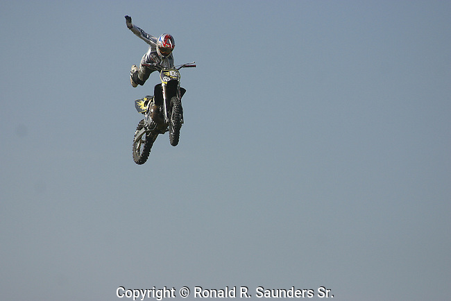 MOTOCROSS COMPETITOR in INDIANAPOLIS AIR SHOW