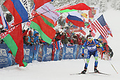 9th December 2017, Biathlon Centre, Hochfilzen, Austria; IBU Biathlon World Cup; Darya Domracheva (BLR) during the womens 7.5KM sprint